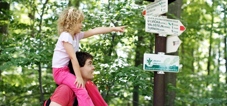 Szlaki turystyczne w Czechach