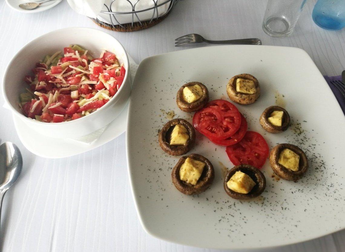visit bosnia pyramid visoko sarajevo food eat vegetarian