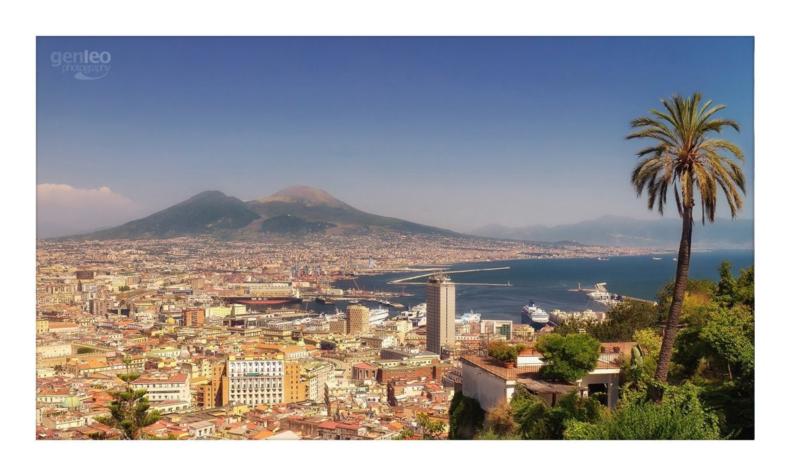 best city italy new year eve naples view panorama