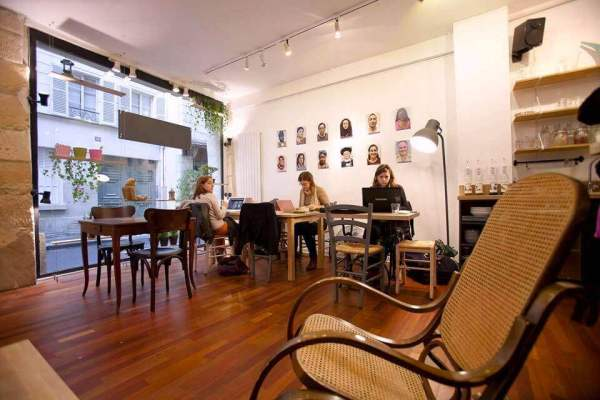 best cafes in Rome coworking coffee shop