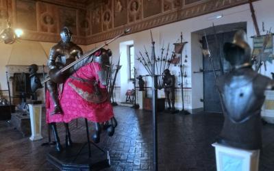 Visit to the the Bracciano Castle near Rome, Italy