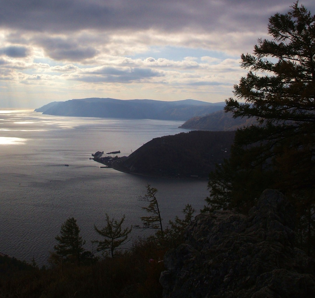 Evening at Lake Baikal
