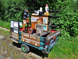 Jim's Wooden Creations, Powell River