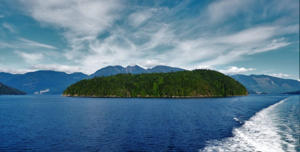 Crossing from Earl's Cove to Saltery Bay on the Sunshine Coast