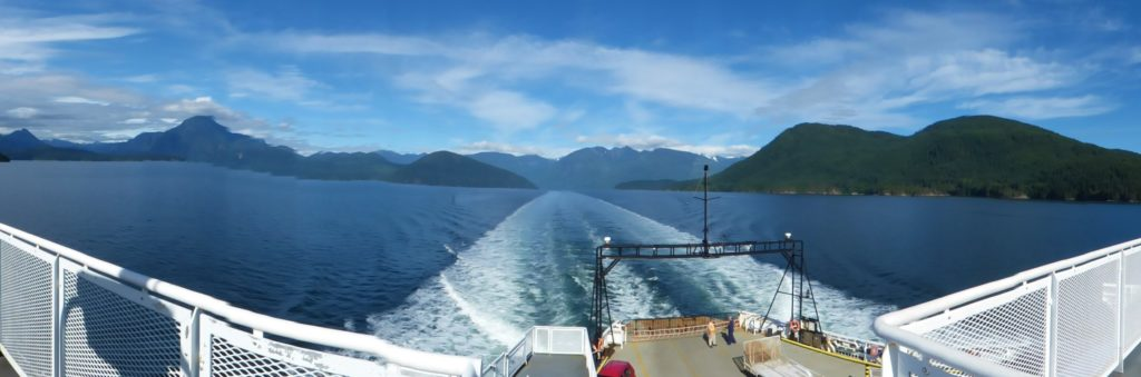 Earl's Cove to Saltery Bay, British Columbia