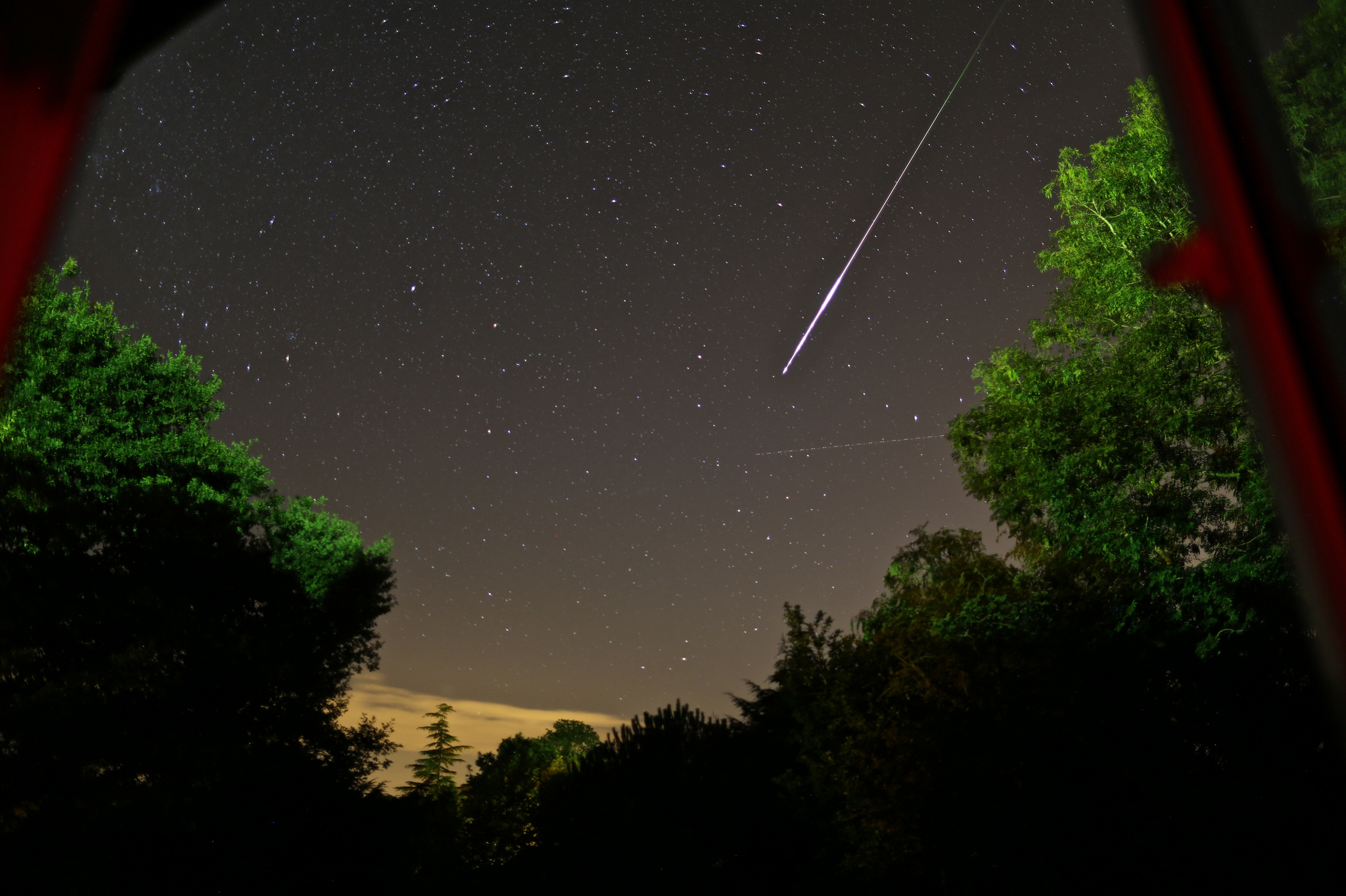 Perseid Meteor, courtesy of Kathryn Alberts