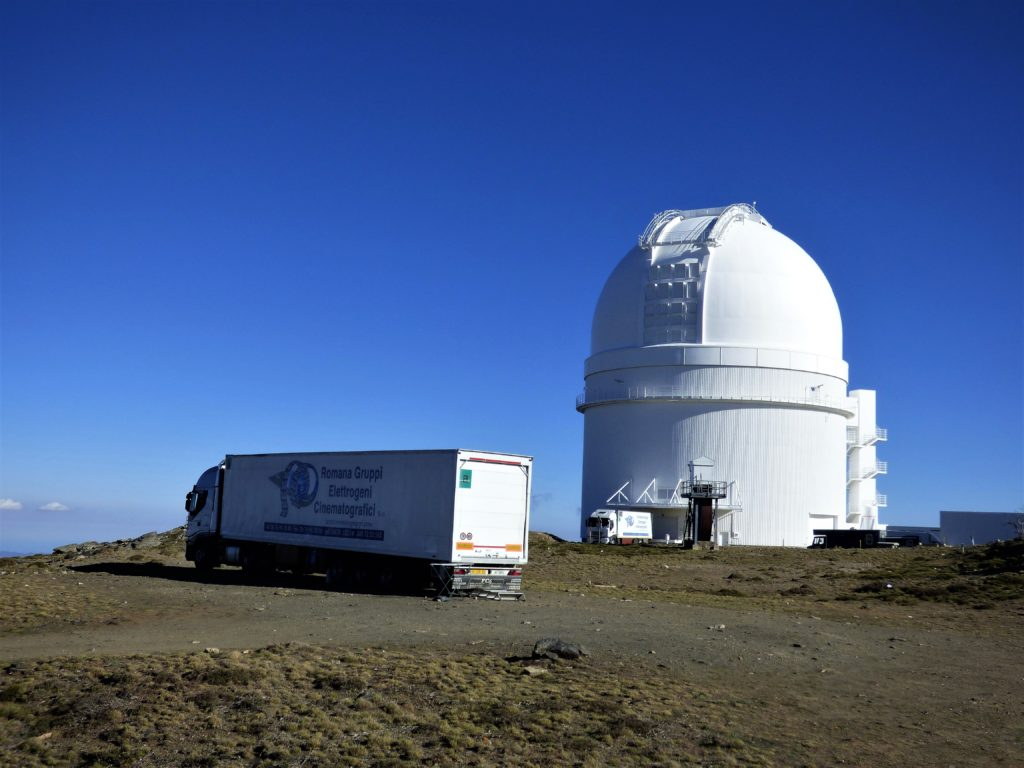 calar alto observatory astrotourism