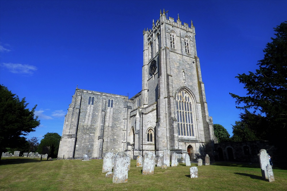 Christchurch Priory in Dorset