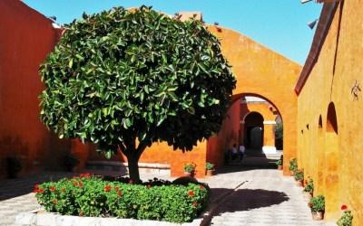 Within the walls of Arequipa's Monasterio de Santa Catalina