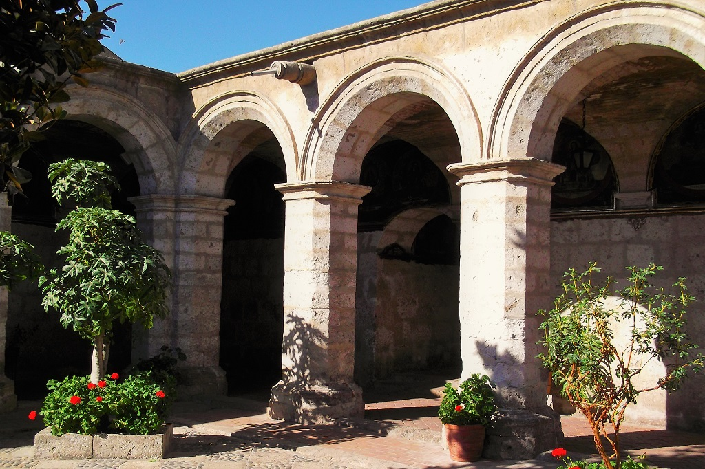 Cloisters at Santa Catalina, Arequipa, Peru