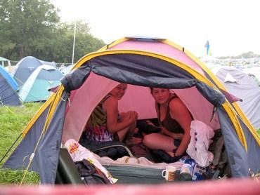 Glasto Tent