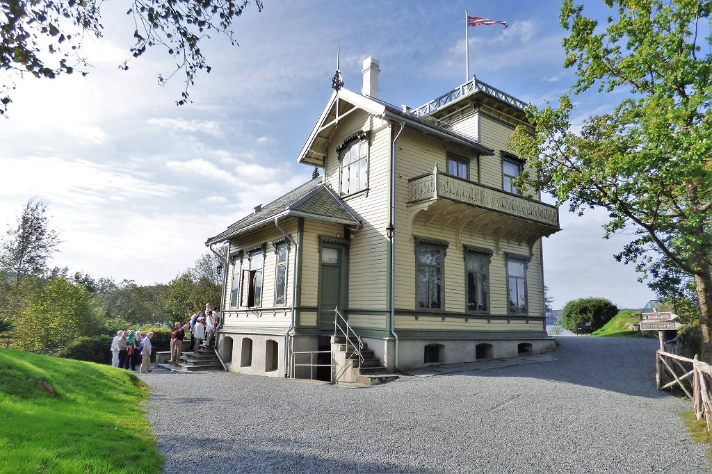The Edvard Grieg Museum, Troldhaugen, near Bergen in Norway