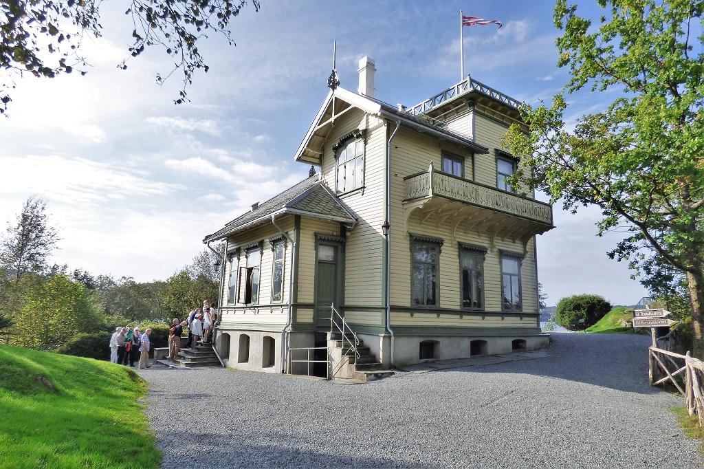 The Edvard Grieg Museum, Troldhaugen, near Bergen in Norway