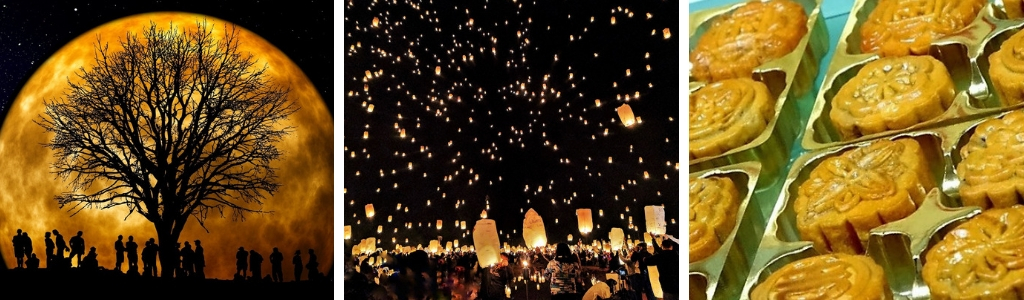 Revering the moon, lanterns and mooncakes