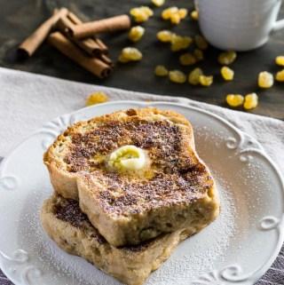 Cinnamon Raisin Bread French Toast | Travel Cook Tell