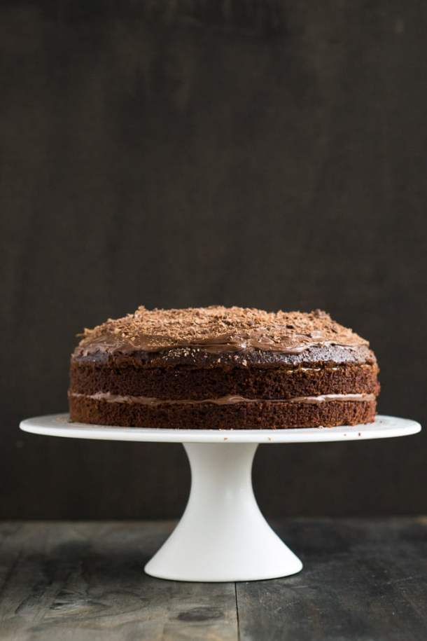 Chocolate Cake with Dulche de Leche and Chocolate Mousse | Travel Cook Tell