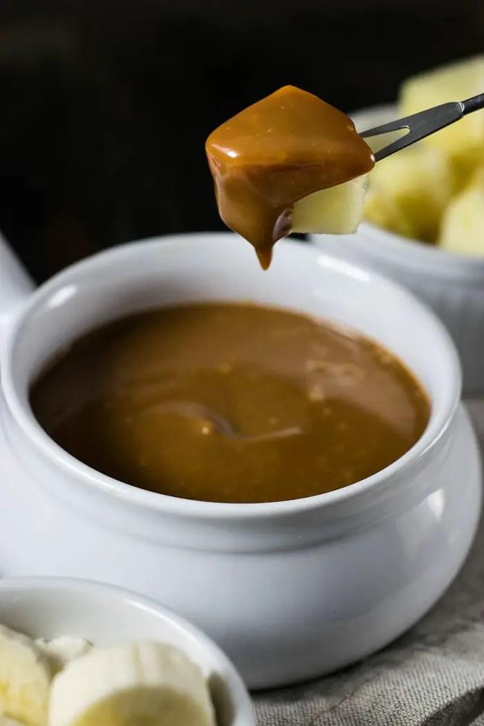 Dulce de Leche Fondue | Travel Cook Tell