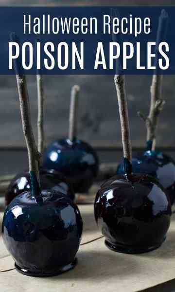 Halloween Recipe: Poison Apples | Travel Cook Tell