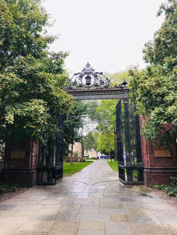 20 Great Places to Take Pictures in New England -Yale University (Noah Porter Gate), New Haven, Connecticut | Travel Cook Tell