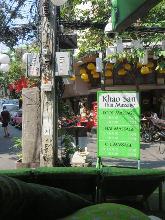 Outside Thai Massage Palour