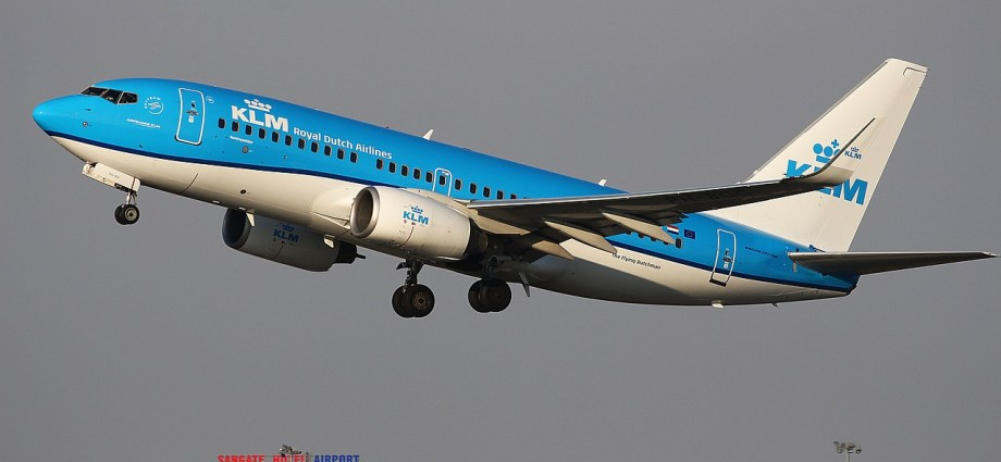 KLM operating direct flights to 162 destinations this winter
