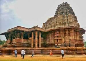 Indian Tourism Minister unveils the UNESCO World Heritage Listing Plaque at Ramappa - Kakatiya Rudreshwara Temple in Telengana