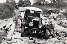 Galton Fenzi & Captain Gethin made the first car journey from Nairobi to Mombasa in 1926