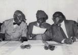The late Martin Shikuku, Jaramogi Oginga Odinga and Masinde Muliro