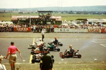 Go Karting at Nakuru Race track. A motor racing track operated in the Lake View Estate area from 1956 until the mid 1980's
