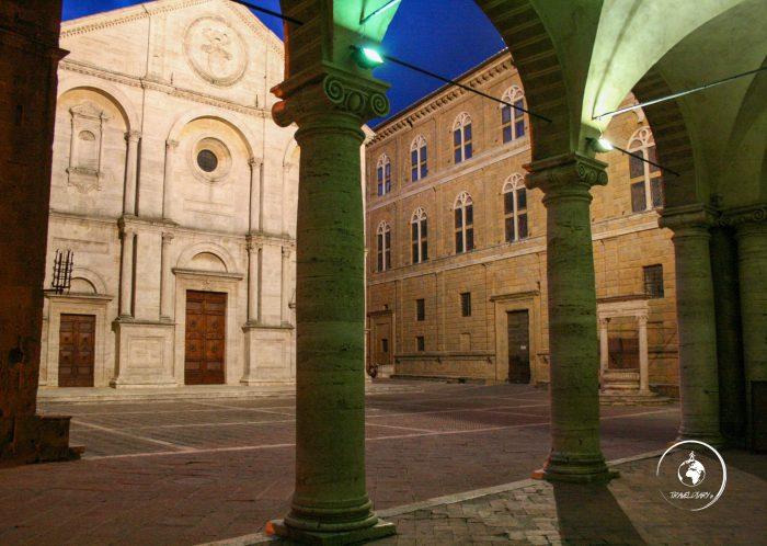 Itinerario Val d'Orcia, il Duomo di Pienza
