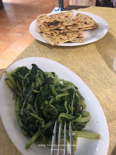Verdure cotte per pranzo a Nidastore