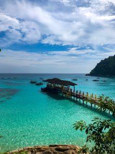 bel tempo alle isole Perhentian ad agosto in Malesia