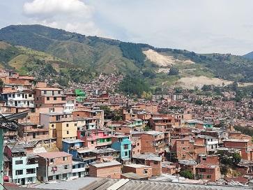 Comuna 13, quartiere di Medellin