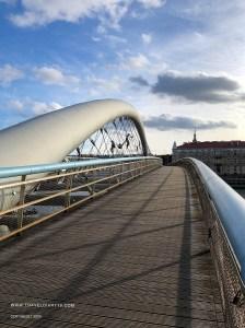 Ponte futuristico di Cracovia