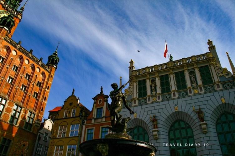 Gdansk, la statua del Nettuno