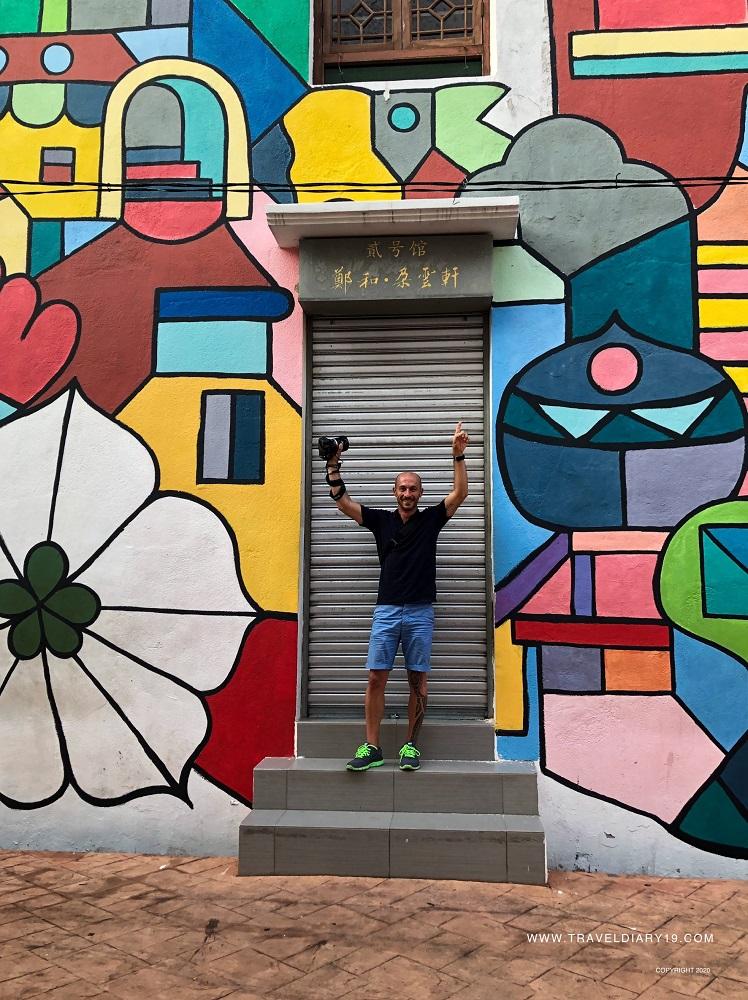 Murales a Malacca