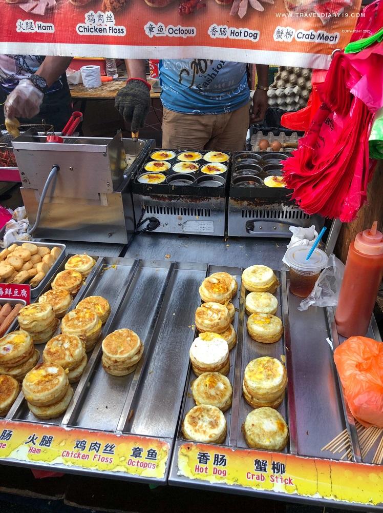 Eggs in Jonker Walk in Malacca