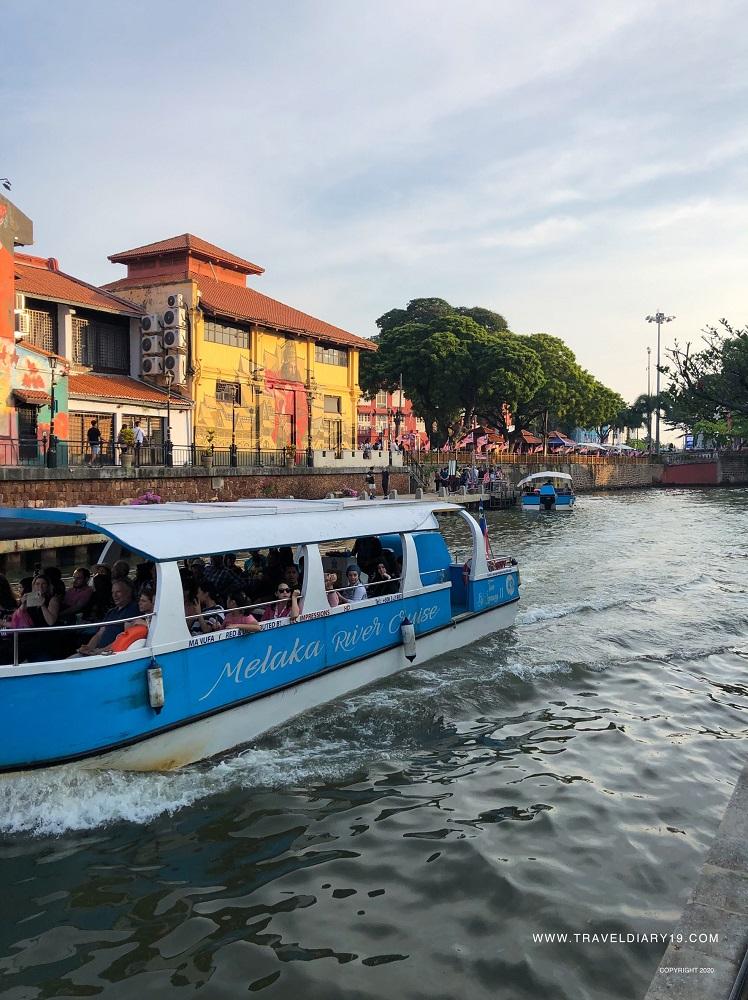 River boat in Malacca