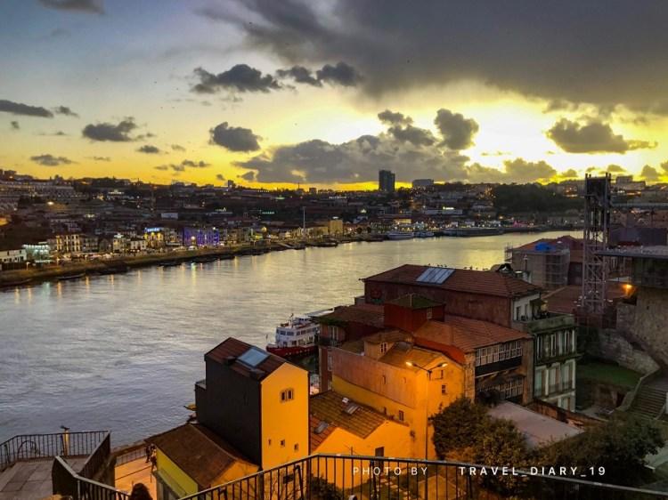 Il fiume Douro a Oporto
