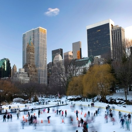 Central Park in inverno, New York
