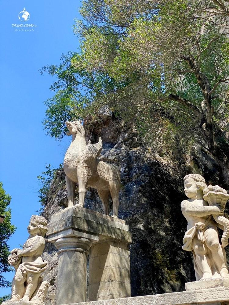 Italia, l'ippogrifo della Rocchetta Mattei