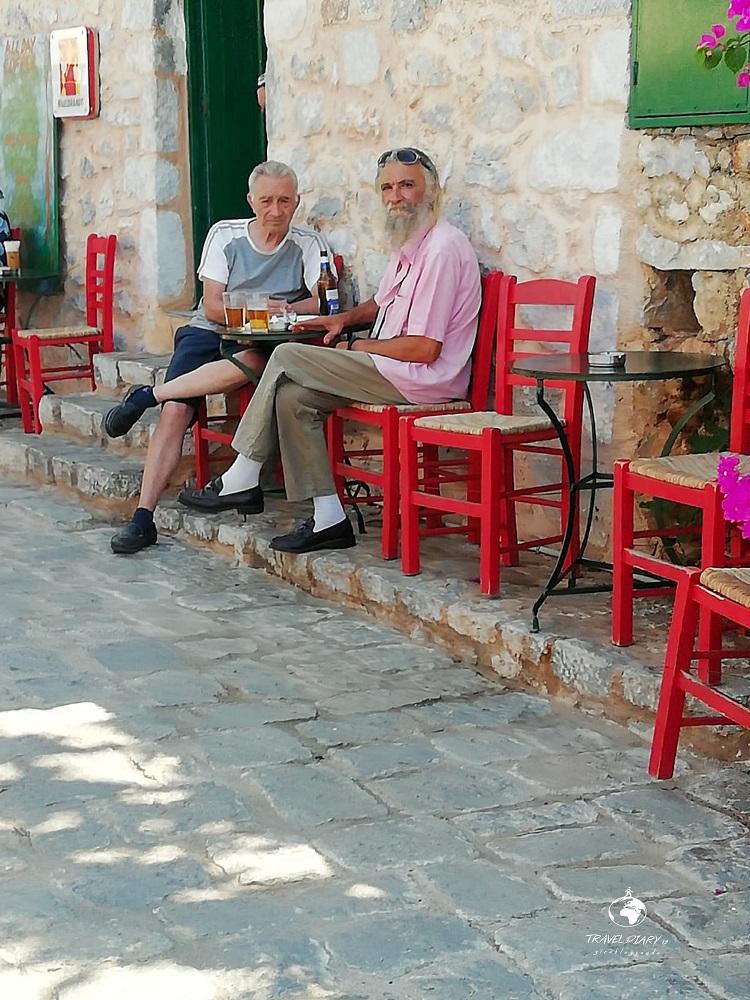 Anziani greci a Gerolimenas