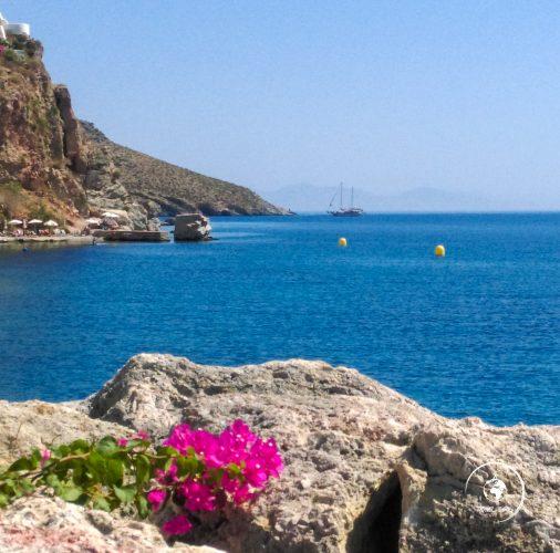 Il porto di Livadia, Tilos