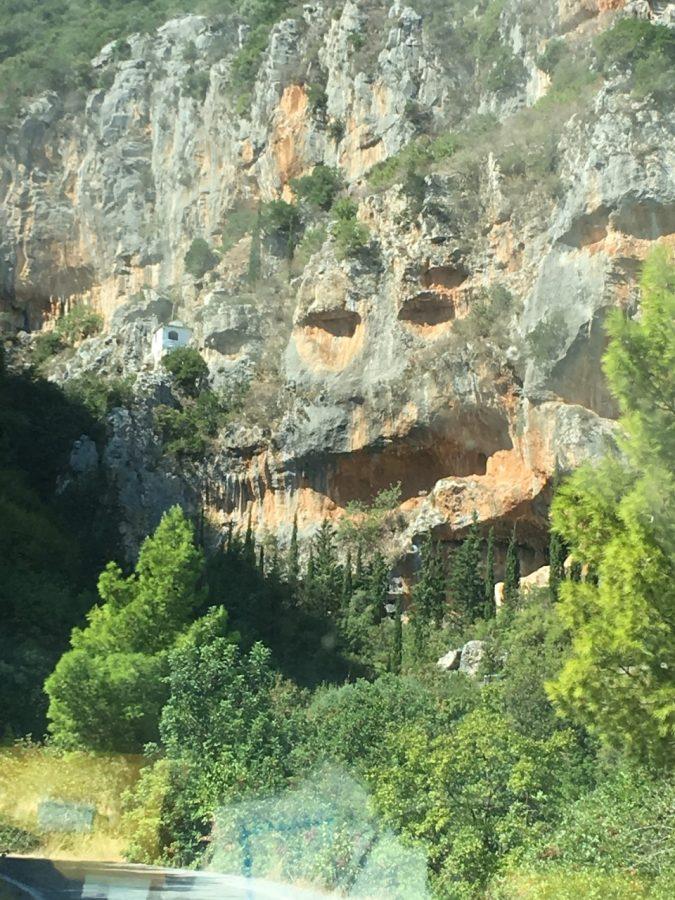 Montagne sorridenti a Kyparissi