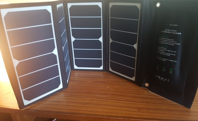 top solar charger for backpacking