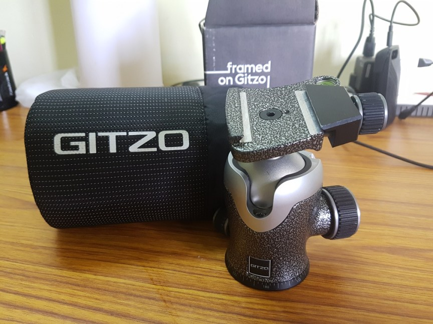 Gitzo Centre Ball Head GH3382