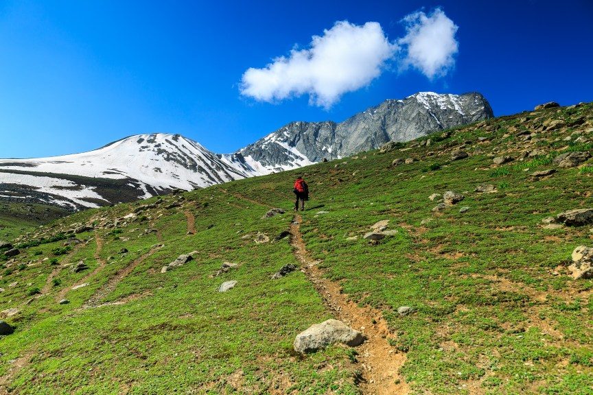 Trekking to  Kashmir Great Lakes
