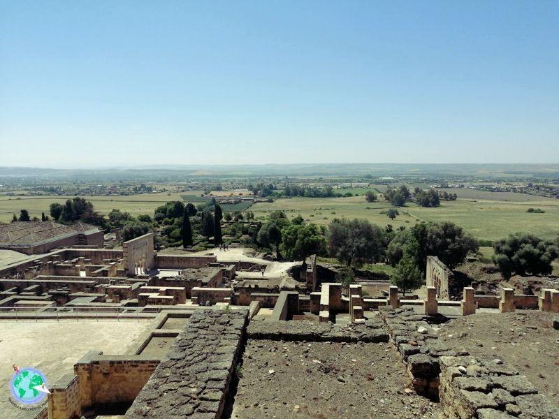 Vista del valle desde la parte alta del palacio