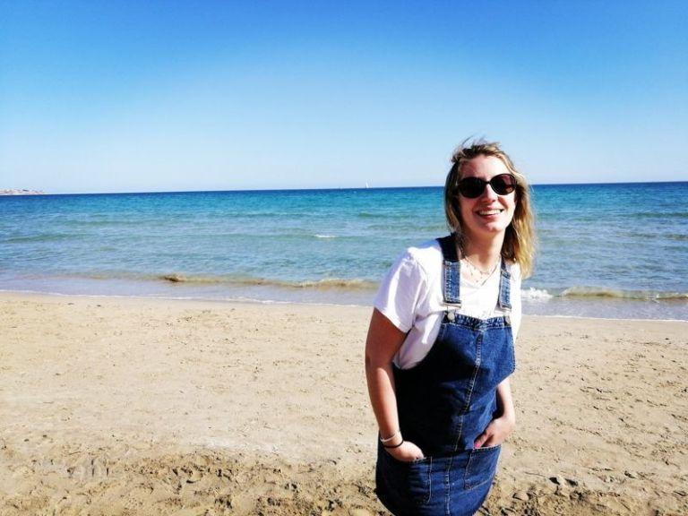 Ara en la playa