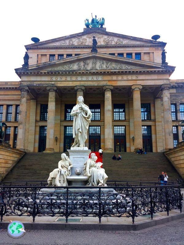 Konzerthaus de Berlín en la Gendarmenmarkt